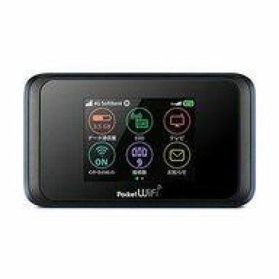 Huawei Pocket WiFi 501HW ネイビーブルー