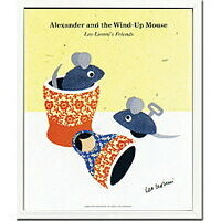 JIG アートフレーム Leo Lionni レオ レオニ Alexander and the Wind-up Mouse ZLL-11761