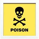 JIG ヴィンテージ サイン フレーム Poison ZSF-52049