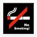 JIG ヴィンテージ サイン フレーム No Smoking ZSF-52052