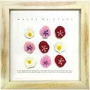 アートパネル インテリア アートフラワー 壁掛け 花 植物 おしゃれ 玄関 リビング ウォールアート 木製 卓上 置き型 造花 かわいい カラフル