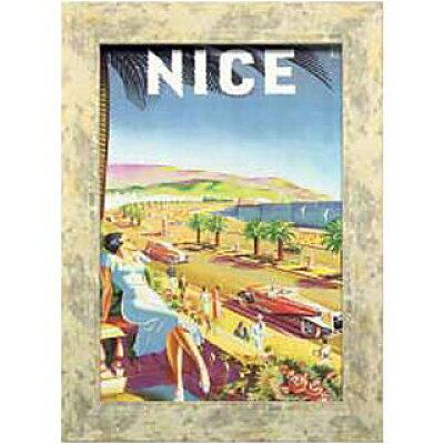 ポスター アートポスター B4 イラスト アート クラシック カフェ 壁掛け ヴィンテージ風 ビンテージポスター 絵 風景 レトロ インテリア ポップアート