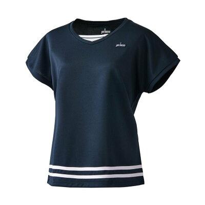 Prince テニスウェア レディース ゲームシャツ WL8090