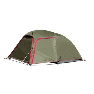 ドーム型テント ステイシー ST-2 2~3人用テント カラー:カーキ サイズ:設置時/幅300×高さ130×奥行230cm #2616-20