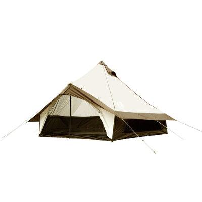 キャンパルジャパンGLOKE T/C/グロッケ12 T/C モノポールテント ベル型テント OGAWA CAMPAL