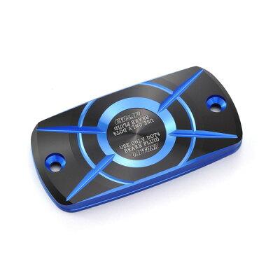 デイトナ 98271 PREMIUM ZONE 角型マスターシリンダーキャップ HONDA-A ブルー