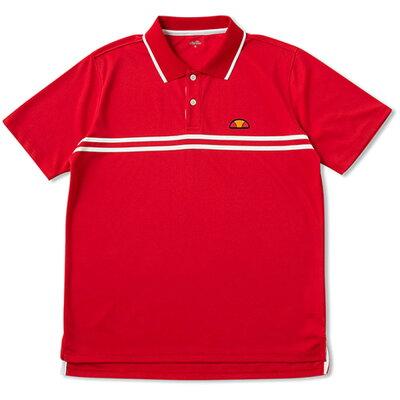 ellesse メンズ テニスバドミントンウェア ポロシャツ メンズ ets06300 rr l