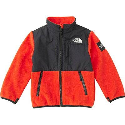 ノースフェイス THE NORTH FACE キッズ アウター デナリフリースジャケット Denali Fleece Jacket FR/ファイアリーレッド NAJ71881 男児 女児