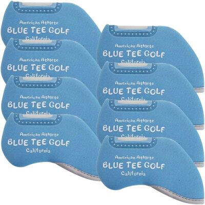 ブルーティーゴルフ BLUE TEE GOLF ストレッチアイアンカバー /窓付きタイプ/ サックス