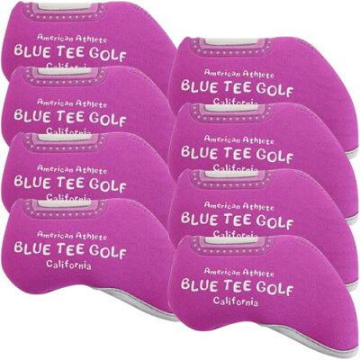 ブルーティーゴルフ BLUE TEE GOLF ストレッチアイアンカバー /窓付きタイプ/ ピンク