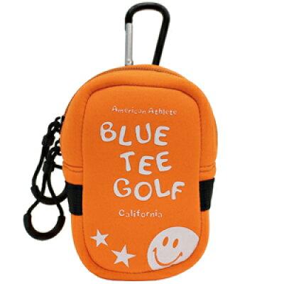 AC-009-OR ブルーティーゴルフ ストレッチ多機能ポーチ オレンジ BLUE TEE GOLF AC-009