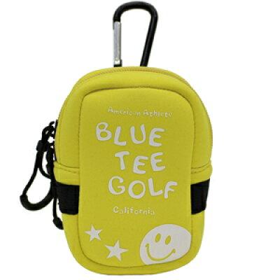 AC-009-YE ブルーティーゴルフ ストレッチ多機能ポーチ イエロー BLUE TEE GOLF AC-009