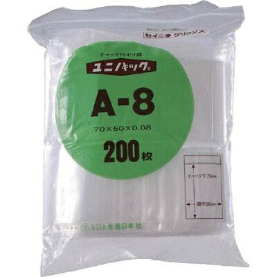 生産日本社 ユニパック L-8 480×340×0.08 100枚入 L8
