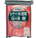 生産日本社 ユニパック g-4 赤      g4cr