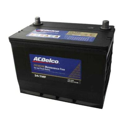 acデルコ34- fメンテナンスフリーバッテリー