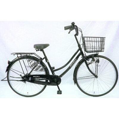 サイモト自転車 26型 自転車 パティオボックスSE ブラック/シングルシフト FW-B260BA-BC-BAA