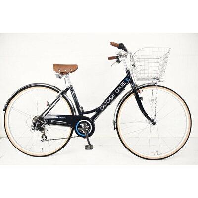 サイモト自転車 27型 自転車 ダカラット クルーズ Mナイトブルー/外装7段変速