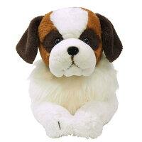 ひざわんこ セントバーナード Mサイズ ぬいぐるみ 犬 動物 アニマル 全長54cm P-5012