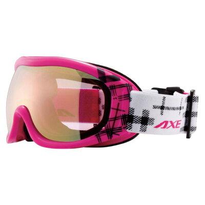 AXE/アックス AX600-WCM/PK 女性用スノーゴーグル/ピンク