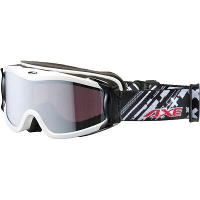 AXE/アックス OMW-785 WT スキーゴーグル UVカット ユニセックス ホワイト