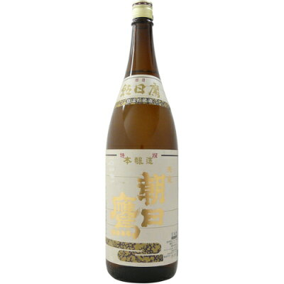 朝日鷹 特選 本醸造 1.8L