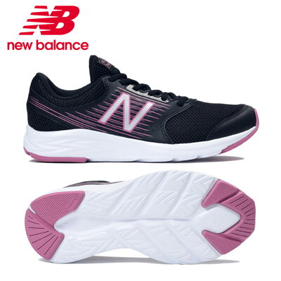 ニューバランス New Balance RUNNING W411 W411LP1D BLACK/ROSE 23.0cm