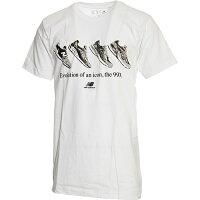 ニューバランス New Balance メンズ トレーニングウェア エッセンシャル90S Tシャツ ホワイト MT91586 WT