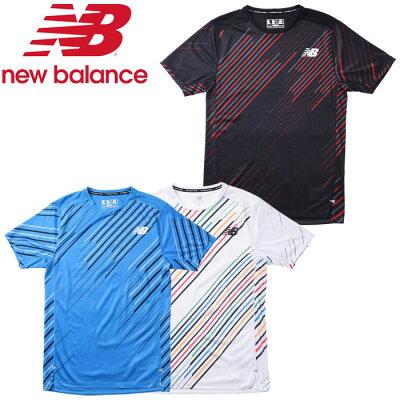 ◯20SS New Balance ニューバランス NB HANZO RACE ショートスリーブ Tシャツ AMT01200 メンズ