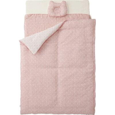 カトージ ベビーベットにぴったり収まるオーガニックコットンのお布団 05489 ピンク
