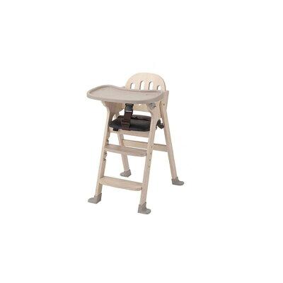 木製ハイチェア Easy-sit ホワイトウォッシュ(1台)