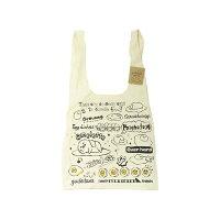 ぐでたま レディース トートバッグ 帆布 エコバッグ サンリオ かわいい キャンバス お買い物バッグ キャラクター ファッショングッズ