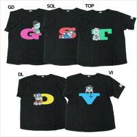 KRUNK × BIGBANG Tシャツ ビッグT-SHIRTS FXXK IT ビッグバン ケイカンパニー K-POPアーティスト オフィシャル