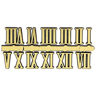クオーツ用 ローマ文字符 15mm/BF206 手芸・ハンドメイド用品 クラフト 時計