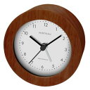 RW-018BR 誠時 電波目覚まし時計 ブラウン モルトー RW018BR
