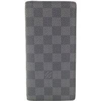 ルイヴィトン ダミエ グラフィットポルトフォイユ ブラザ 長財布 N62665