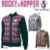 ロッキーアンドホッパー ROCKEY&HOPPER フルジップ防風セーター RH-4343WL レディス