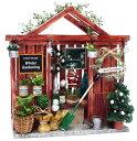 ビリーの手作りドールハウスキット ガーデンシリーズ ( クリスマスガーデンハウスキット )