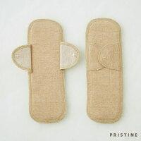 PRISTINE 羽根付サニタリーパッド 小2枚