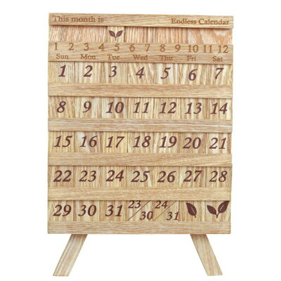 Feuillage Endless Calendar イーゼル型万年カレンダー G-1464N