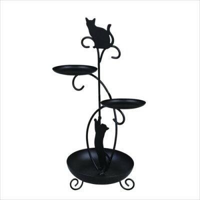 ディアキャッツ 黒猫アクセサリースタンド G-4532BK