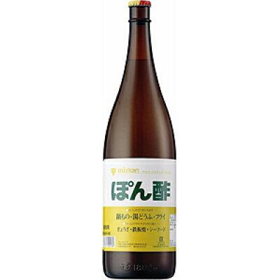 Mizkan ぽん酢(ビン) 1.8L/6
