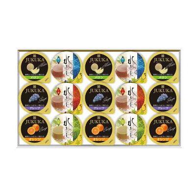 金澤兼六製菓 フルーツゼリー&水羊羹ギフト FRM-15 15個