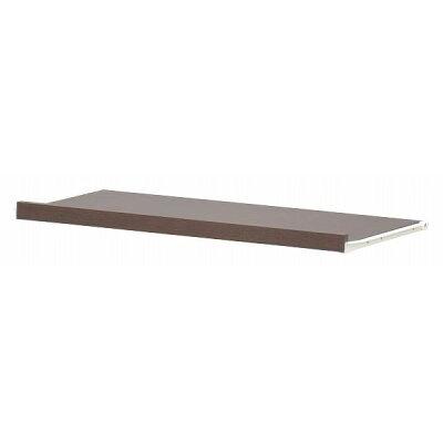 スライド棚板/カスタマイズ家具用トレー (幅72.7cm×奥行35cm×高さ3.5cm) エイ・アイ・エス エシカ W80 ブラウン