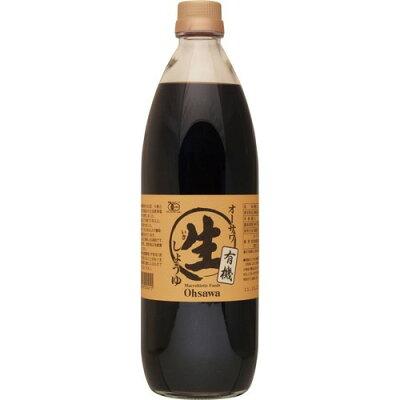 オーサワ 有機生醤油(1L)