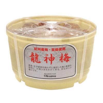 オーサワ 龍神梅(樽)(1kg)