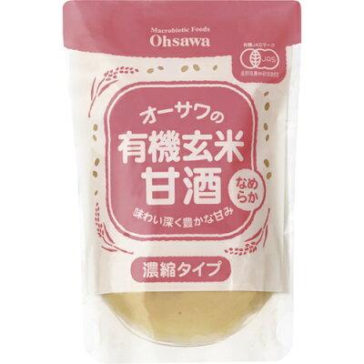オーサワ 有機 玄米甘酒(なめらか)(200g)