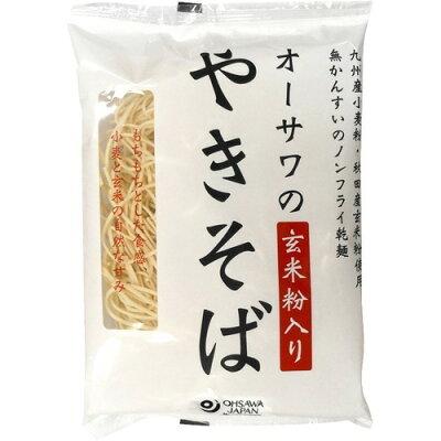 オーサワのやきそば(玄米粉入り) 乾麺(160g)