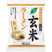 オーサワのベジ玄米ラーメン(みそ)(118g)