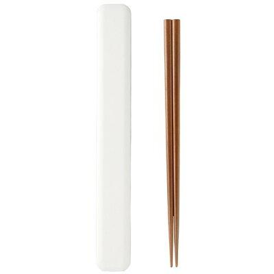 スタッフ 箸・箸箱セット ホワイト T-26568(1セット)