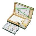クサカベ 水彩画箱セット グリーン 24色 水入れ樹脂製